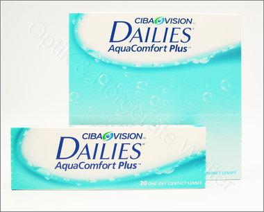 Dailies Aqua Comfort Plus Tageslinse (30er oder 90er Box)